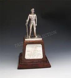 1033 Golden Antique Trophy