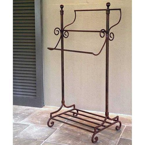22 X 18 47 Inches Wrought Iron Towel Rack Id 11685414288