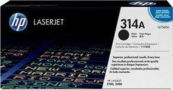 HP Q7560A 314A Black Toner Cartridge