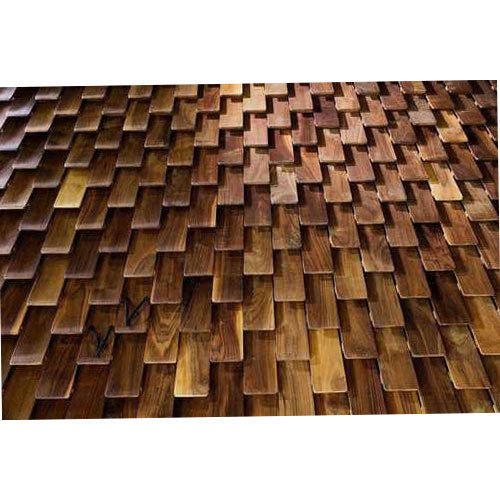Textured Wood Wall Cladding At Rs 800 Square Feet Wall Cladding