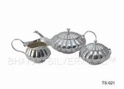 Pure Silver Traditional Tea Set