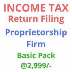 Income Tax Return Filing Proprietorship Firm