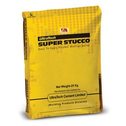 UltraTech Super Stucco Polymer Mortar, Packaging Type: HDPE Bags, Packaging Size: 25 Kg