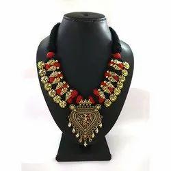 Anniversary Meenakari Kolhapuri Necklace