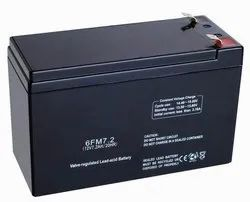 Black ZEN 12V 7Ah VRLA SMF Battery (Sealed Maintenance Free)