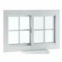 Japanese Steel White Window Frame