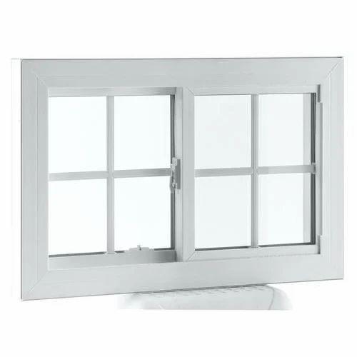Rectangular Japanese Steel White Window Frame