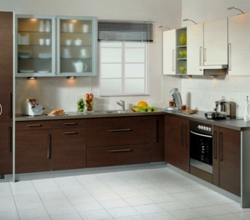 L Shaped Kitchen Interior Designing Service In Indira Nagar Stunning Kitchen Interior Designing Design