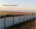 Solar Power Plant Compound Wall