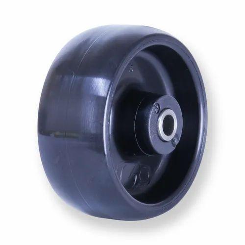 Black Sleeved Nylon Wheel