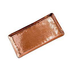Copper Hammered Tray NJO-2817