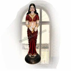 FRP Beautiful Indian Lady Statue