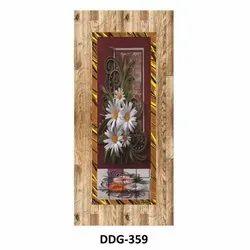 Wood Polished Laminate Wooden Flush Door