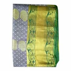 Art Silk Sarees, 5.5 m (separate blouse piece), 80 Cm