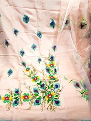 Hand Paint Silk Suits