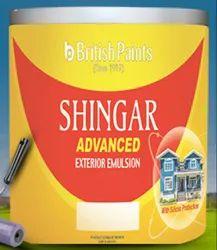 Berger Soft Sheen British Paints Shingar Advanced Exterior Emulsion 20 Ltr, Packaging Type: Bucket
