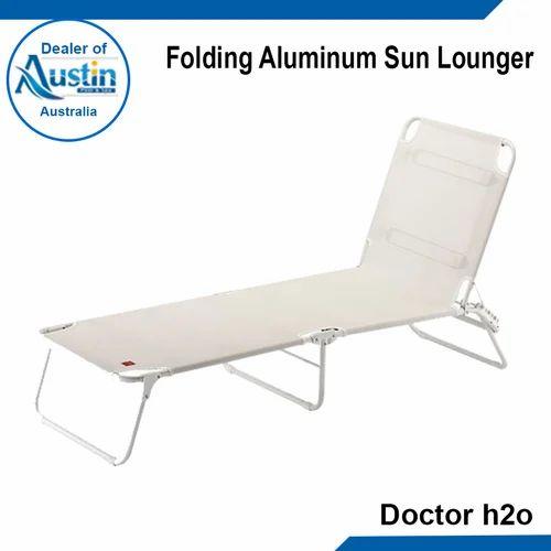 Folding Aluminum Sun Lounger