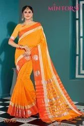 Mintorsi Present 10941 To 10950 Cotton Silk Designer Saree