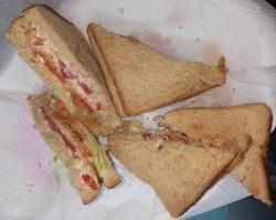 Nutritious Tricolored Sandwiches