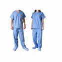 Blue Hospital Patient Suit, Size: Medium And Large