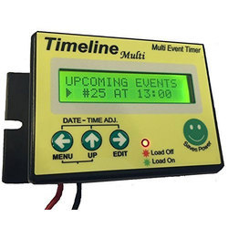 Timers For Street Light, School Bell, Multi Event Controls