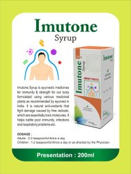 Ecoveda Herbals Imutone Syrup, Bottle, Packaging Size: 200ML