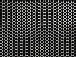 Hex Hole Perforated Sheet