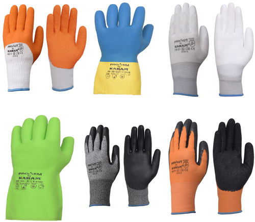 Karam Safety Hand Protection Gloves, Hand Protection -6872