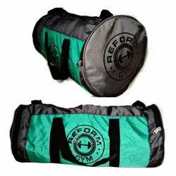 Polyester Blue, Green Reform Gym Bag