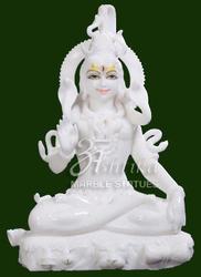 Viyatnam White Marble Shankar Statue