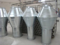 Silver Air Hood, For Industrial Use, Size: 120 To 800