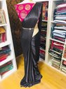 Ultra Satin Sarees With Designer Blouse