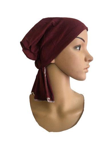 Maroon Chemo Beanies Cancer Caps Women Summer Chemo Caps Sleep Turban For  Women Caps a62a298b37fb