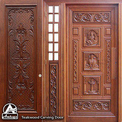 Teak Wood Carving Door Carving Teak Door Manufacturers