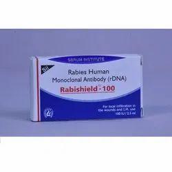 Rabishield - 100, Packaging Type: Box