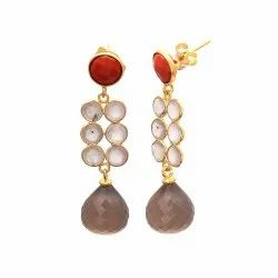 Onion Shape Drop Earrings