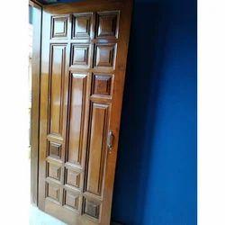 Brown Home Wooden Door
