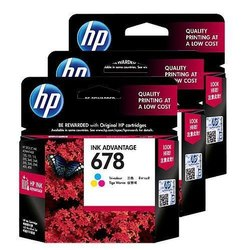HP 678 Color Ink Cartridge