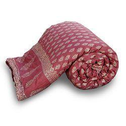 Jaipuri Floral Pure Cotton Double Quilt 338