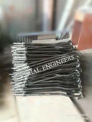 Carbon Steel Vishal Engineers J Type Foundation Bolt, Packaging Type: Jute Gunny Bags