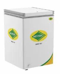 Western NWHD125H Hard Top Convertible Deep Freezer, 555 (W) x 640 (D) x 880 (H) Mm, Capacity: 100 L