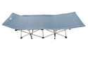 Folding Camping Bed - Extended Ht.- Grey