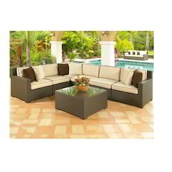 Outdoor Patio L Shape Corner Sofa Set in Delhi