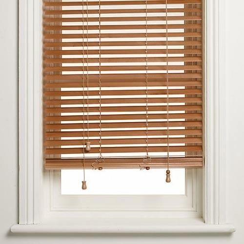 Window Venetian Brown Blind