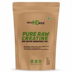 HealthOxide Pure Raw Creatine Powder 100 gm