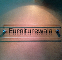 Rectanglica House Name Sign Plates