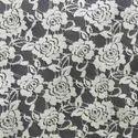 Cotton Nylon Net Crochet Fabrics