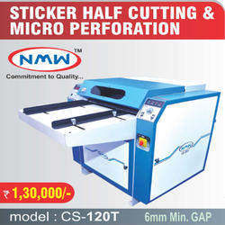 Durable Half Sticker Cutting Machine