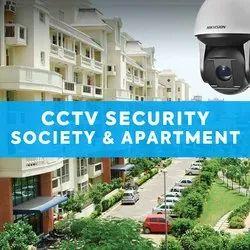 Day & Night Vision Bullet Camera CCTV For Society Apartment