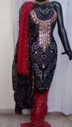 Ladies Unstitched Suit and Dress Material